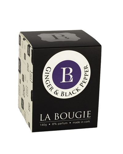 La Bougie Ginger Black Pepper Candle 20cl