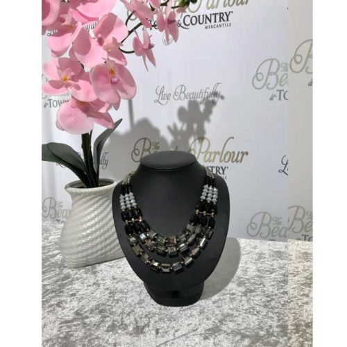 Black Layer Neckpiece