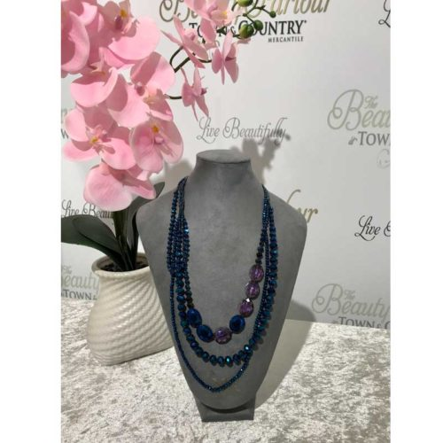 Blue Jewel Neckpiece