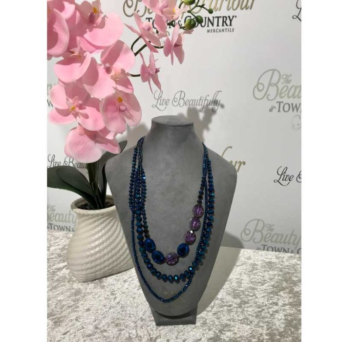 Blue Jewel Neckpiece
