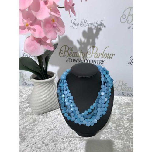 Blue Neckpiece