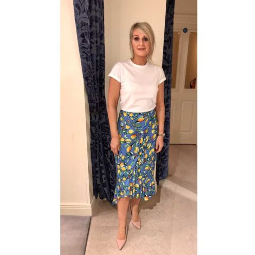 Sorrento lemon skirt