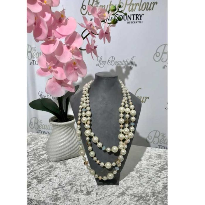 Pearl Long Neck Piece