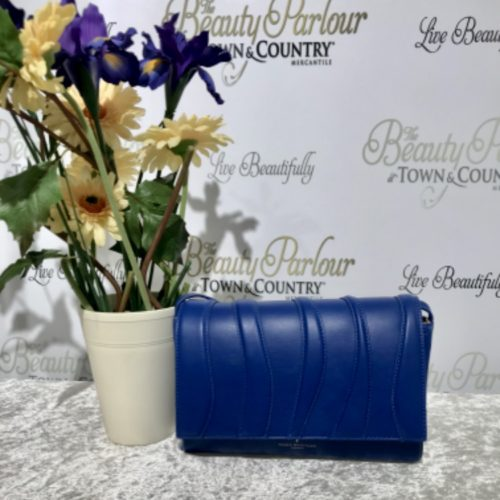 Royal blue Paul's boutique clutch