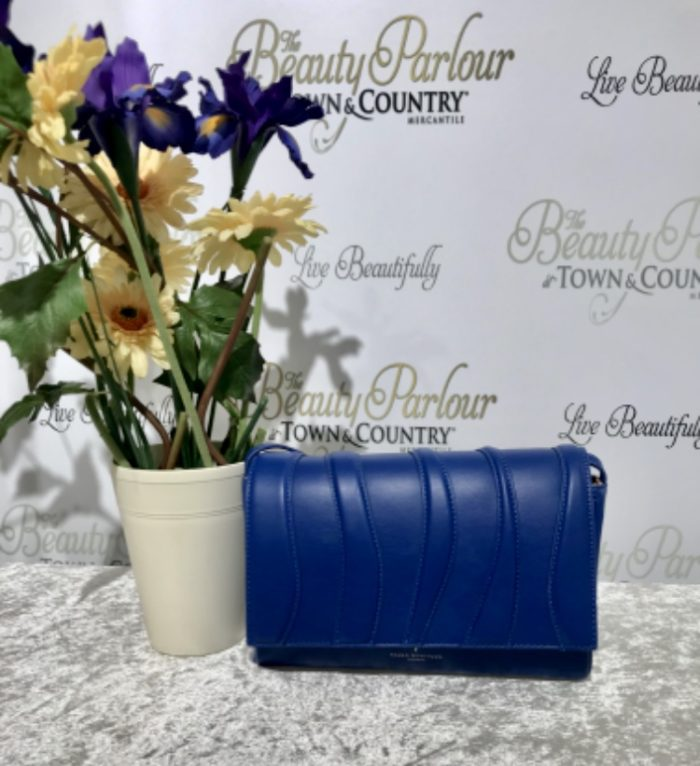 Royal blue Paul's boutique clutch